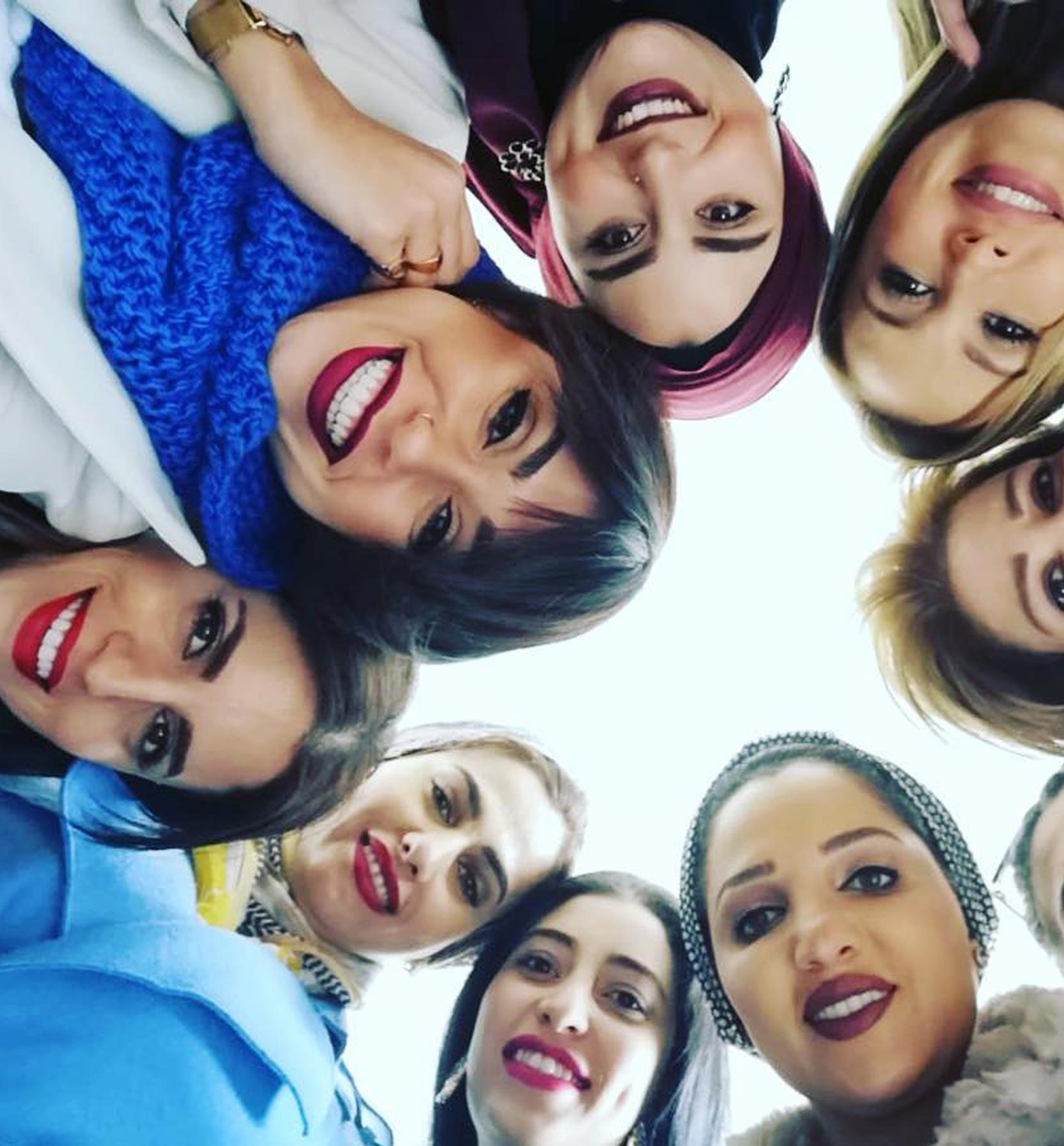Style Coaching Institute Lebanon Students group Selfie