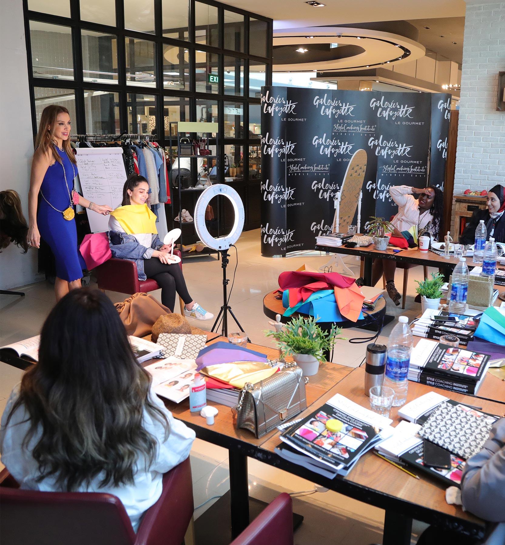 personal stylist training in dubai