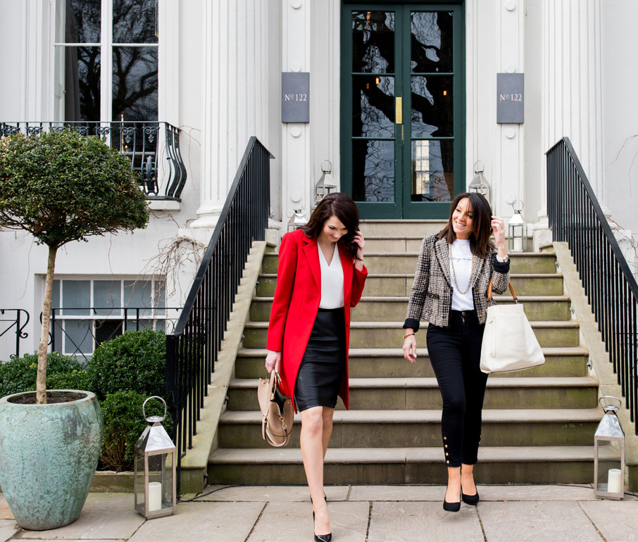 Tracie Redmond & Kate Redmond Owners of the Style Coaching Institute off Shopping